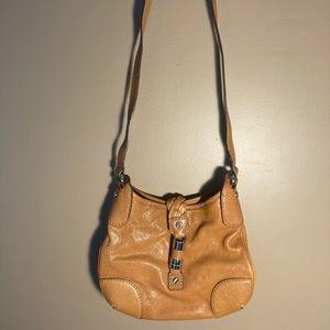 Michael Kors tan crossbody bag